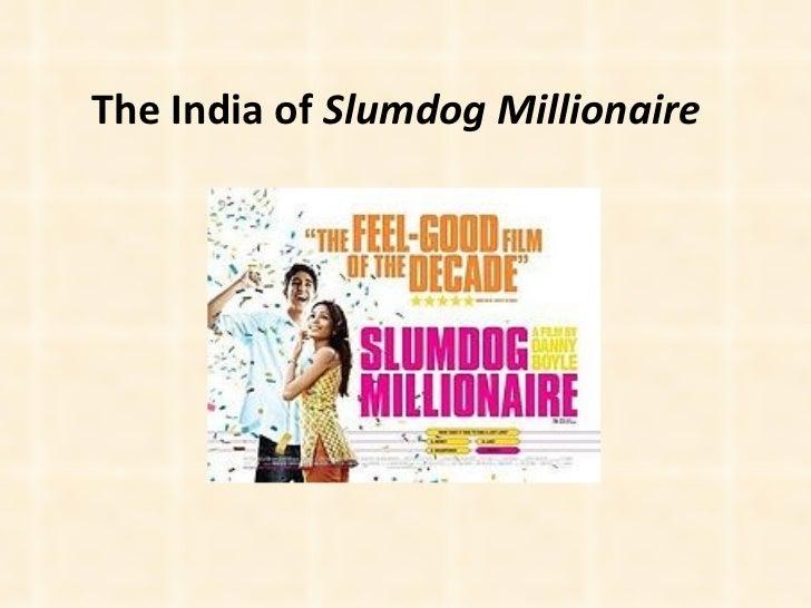 Slumdog india