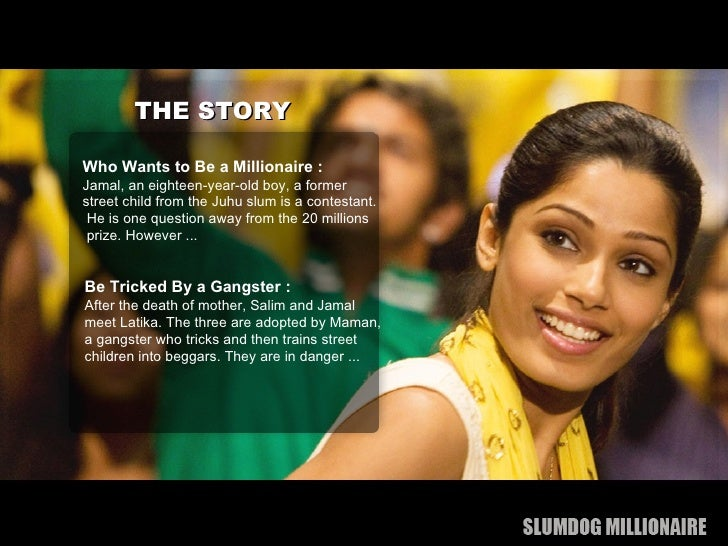 slumdog millionaire essay In this essay, i discuss the western, and thus, outsider's perspective of a movie that takes place in india and the problematic role popular media can play in determining our ideas of foreign places and concepts.