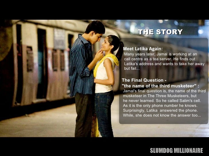 analysis of slumdog millionaire film studies essay A review of slumdog millionaire film studies essay dubbed the feel good movie of the decennary,  slumdog millionaire  is the movie to see excitement, calamity, love and detest it 's all featured together.