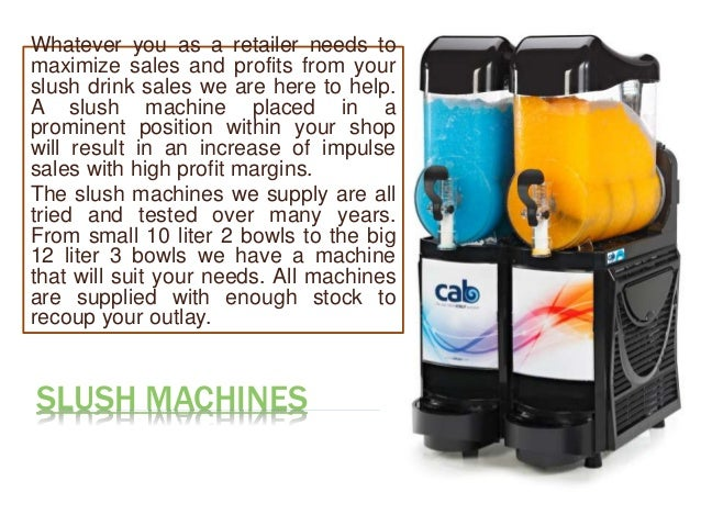 slushie machine for sale