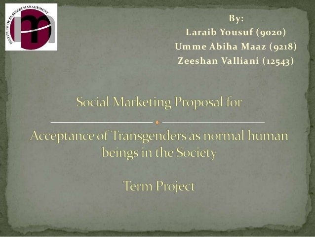 Social Marketing Proposal