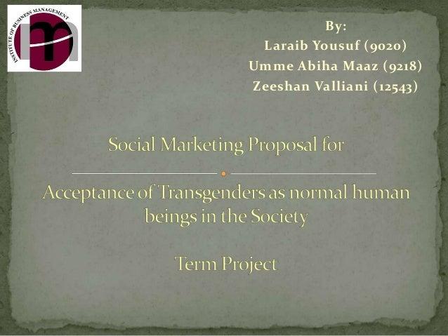 Social Marketing Proposal