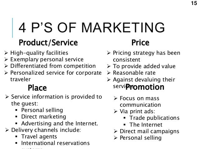 taj hotels and resorts service marketing mix essay Business marketing analysis - rosewood hotels marketing plan marketing implementation plan essay - marketing implementation plan kudler fine foods has designed a market research plan that includes using data collection tools to assist them in determining and improving their level of customer service.