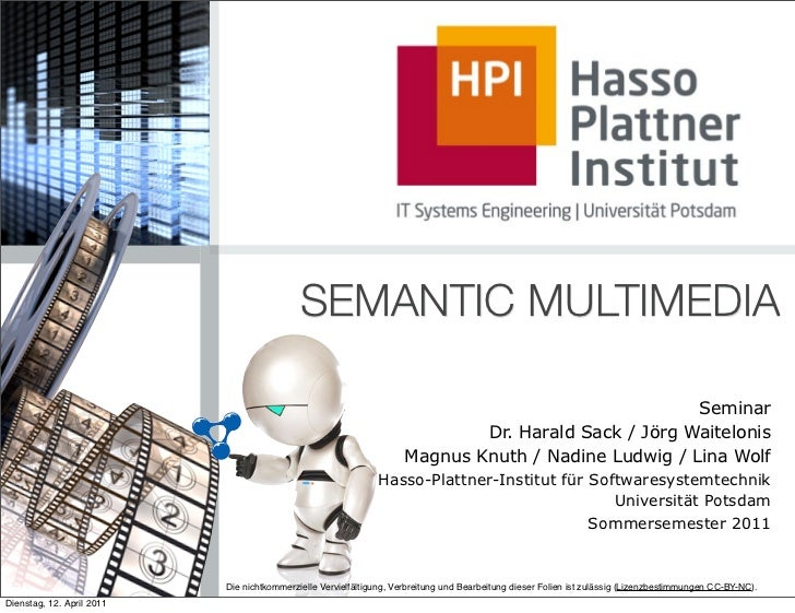 SEMANTIC MULTIMEDIA                                                                                                     Se...