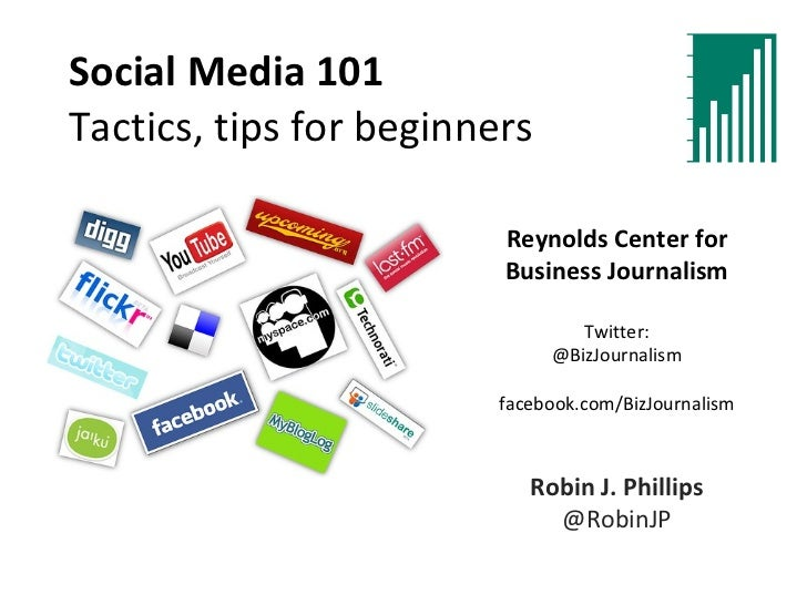 Social Media 101 for journalists: Tips and tactics for beginners