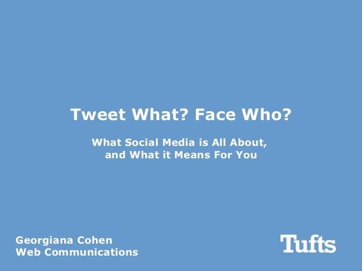 Social Media 101 demo