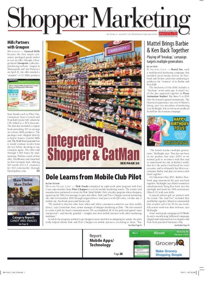 Shopper Marketing magazine - June \'11 e-issue