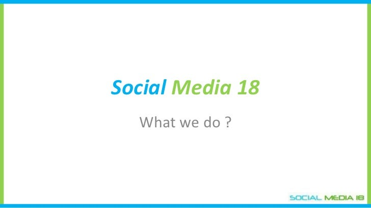 Marketing Social Media