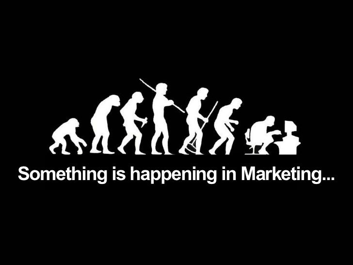 Something is happening in Marketing...