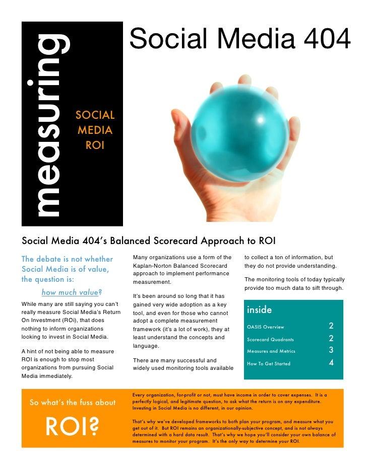 measuring                                Social Media 404                       SOCIAL                      MEDIA         ...