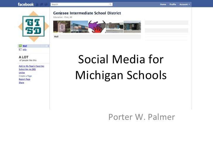 Social Media for Michigan Schools