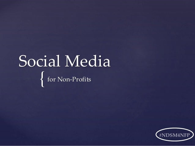 Social Media For Non-Profit Administrators