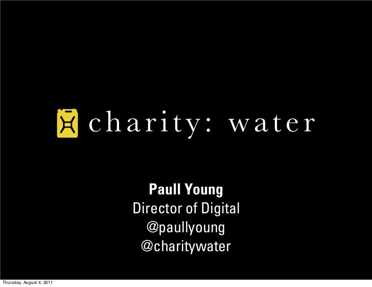 Case Study: charity: water September Campaign 2010