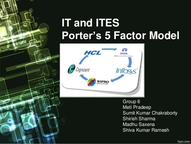 porters 5 forces applied to wipro technologies If you apply michael porters five forces model to the telco industry, you would  rightly  changing demand of the consumers changing technology changing.