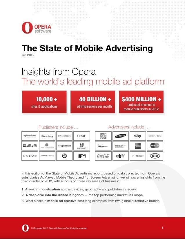 Report Opera Mobile