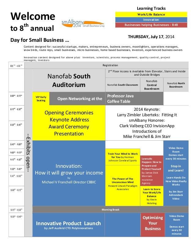 smAlbany july 17 2014 work life balance b4b innovation suny cnse suny it