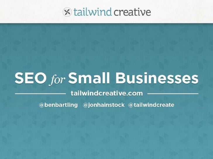 SEO For Small Business Deck (Dabble)