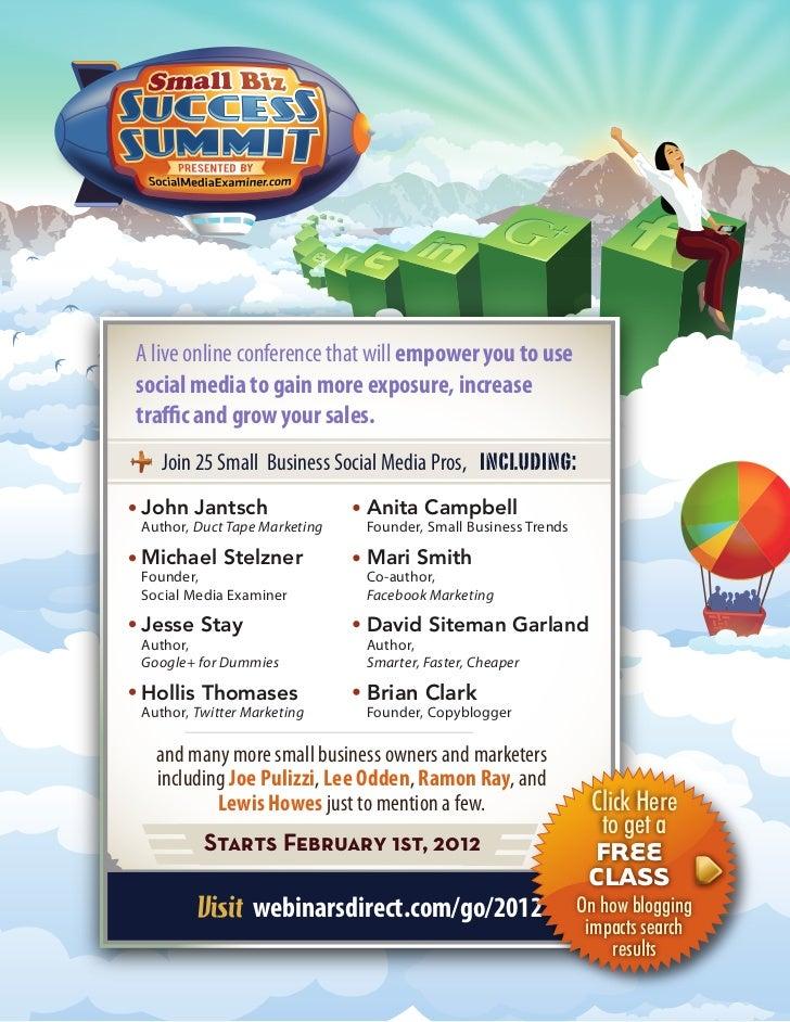 Small Biz Success Summit 2012
