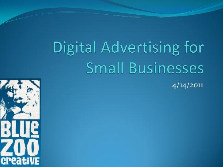 Digital Advertising for Small Business