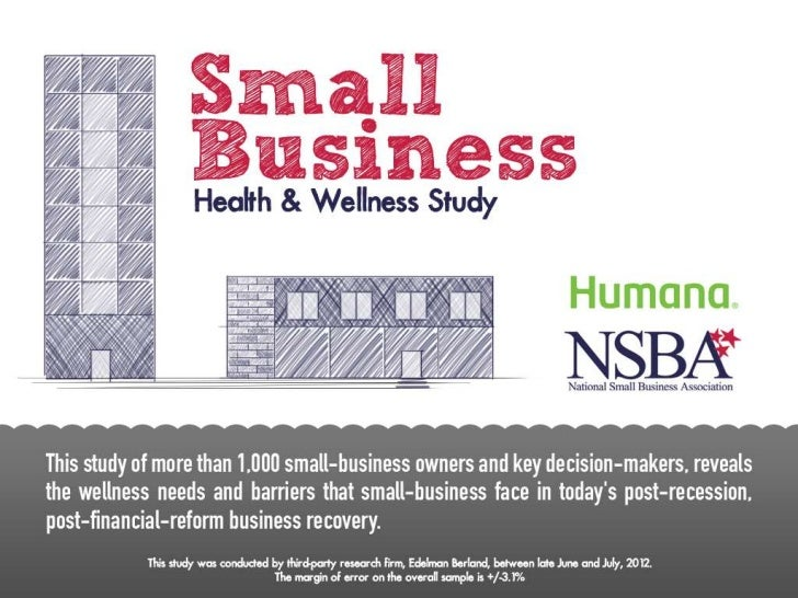 Small Business Health and Wellness Study