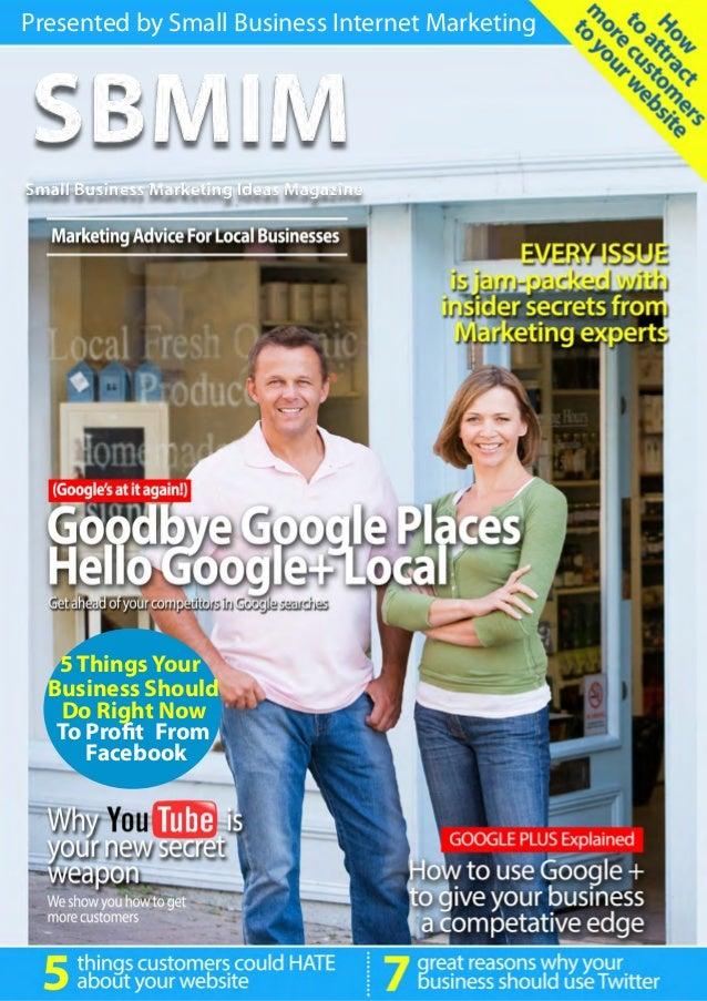 Small business marketing ideas magazine