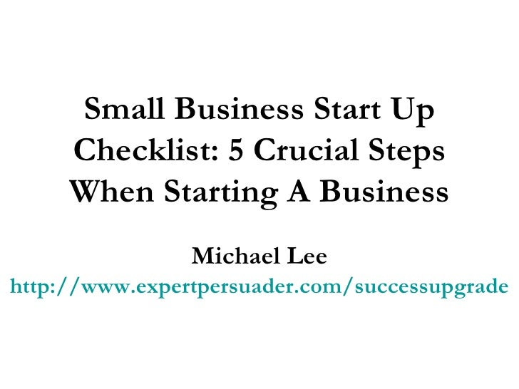 how to start up a small online business