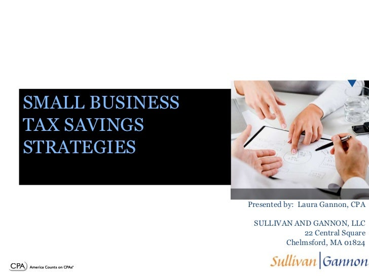 Business Tax Strategies for 2011 and 2012