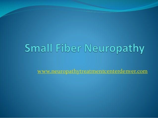 small fiber neuropathie symptome