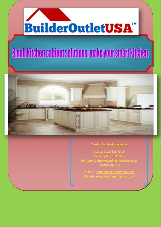 Small Kitchen Cabinet Solutions