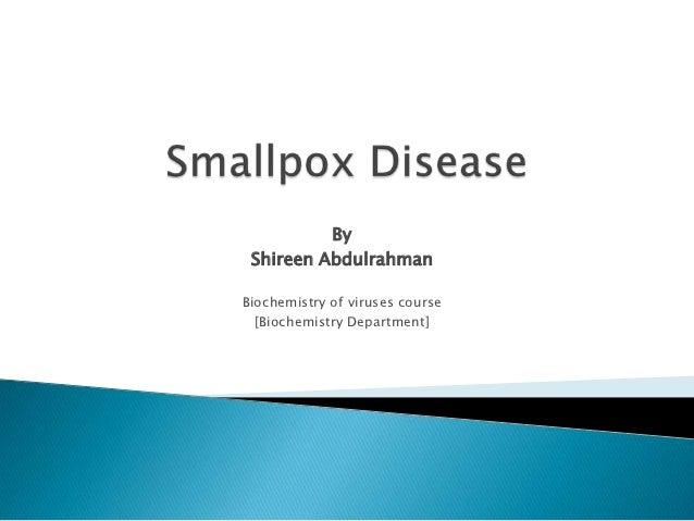 Smallpox disease