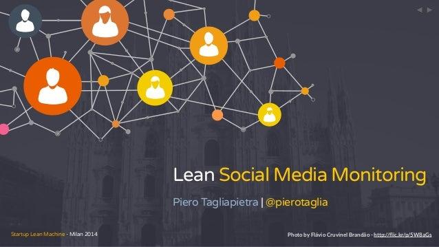 Lean Social Media Monitoring