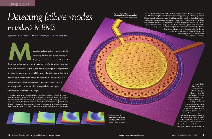 COVER STORY  Detecting failure modes                                                                                      ...