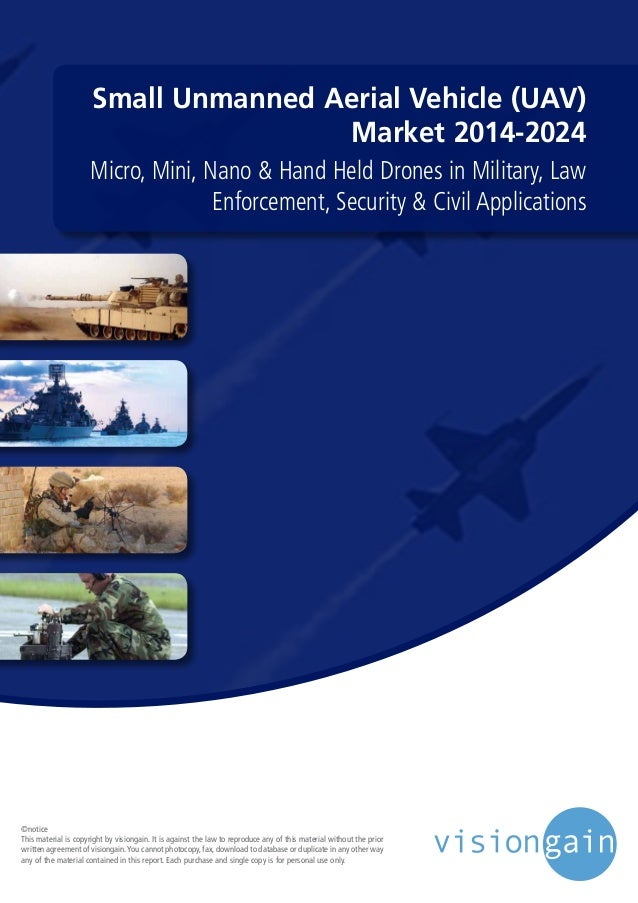 Small Unmanned Aerial Vehicle (UAV) Market 2014 2024