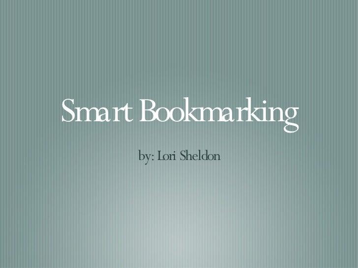 Smart Bookmarking
