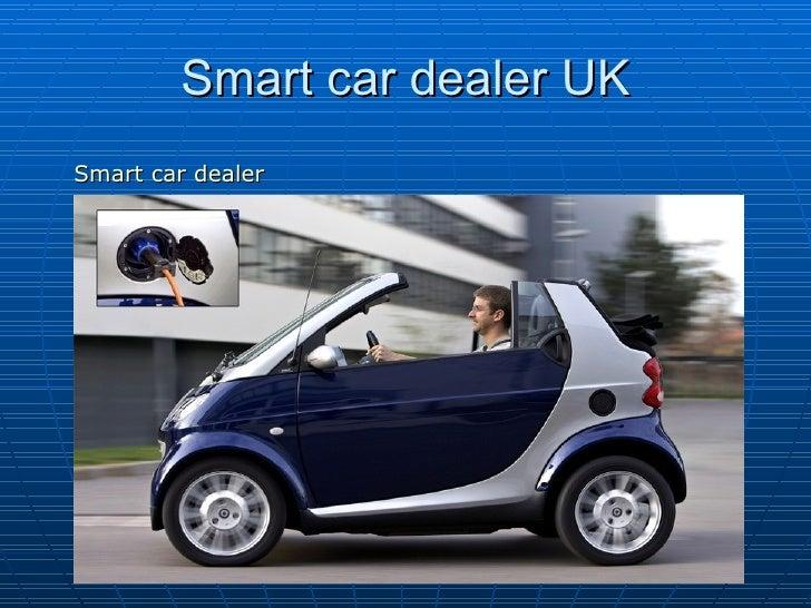 Smart car dealer UK