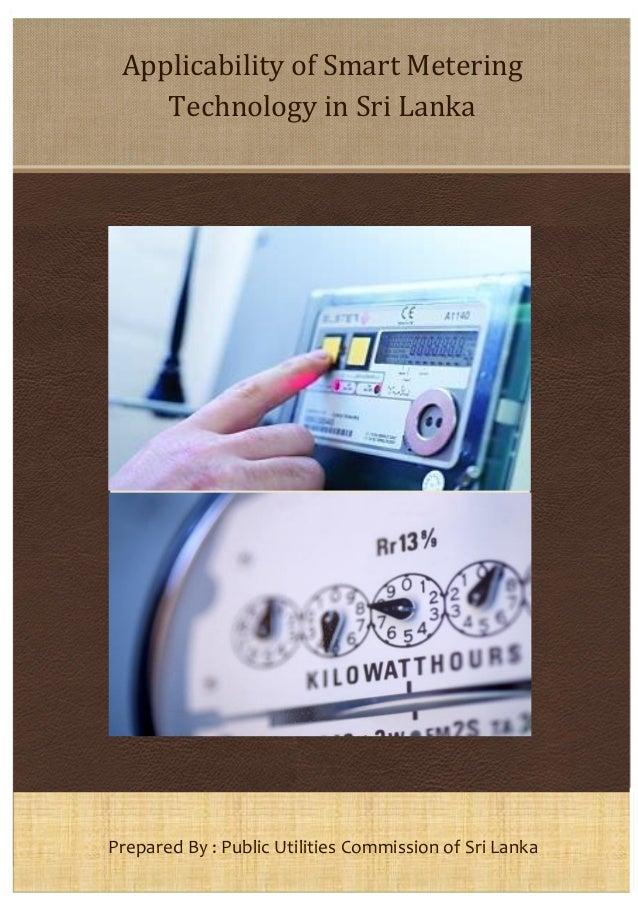 Applicability of Smart Metering Technology in Sri Lanka