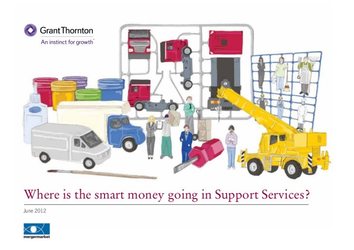 Where is the smart money going in Support Services?June 2012