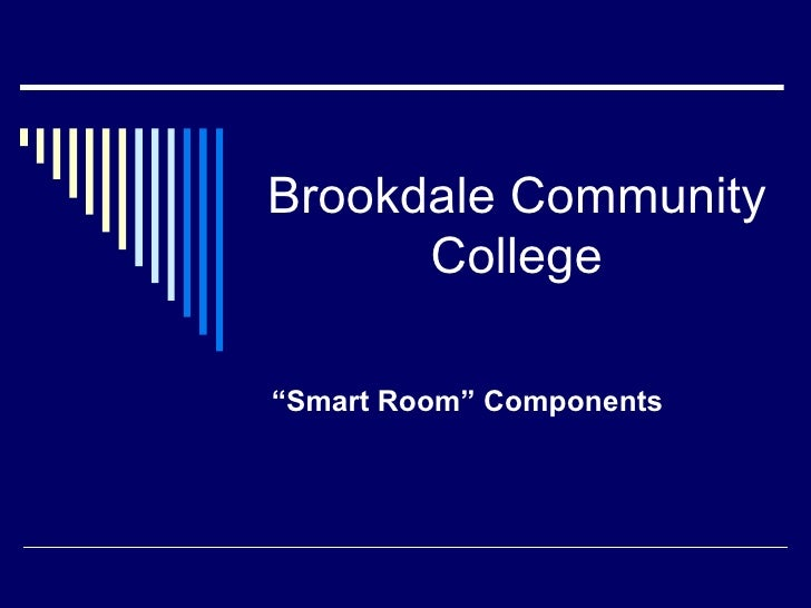 "Brookdale Community College ""Smart Room"" Components"