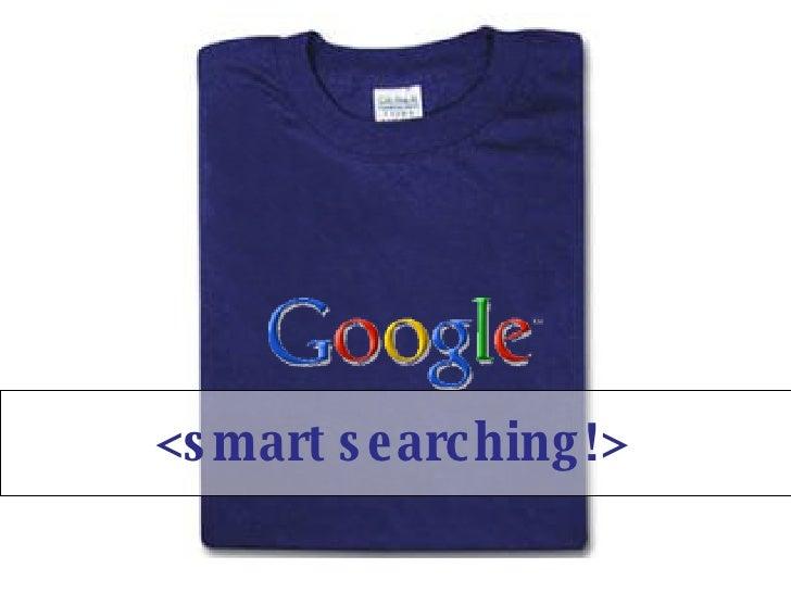 Smart Searching