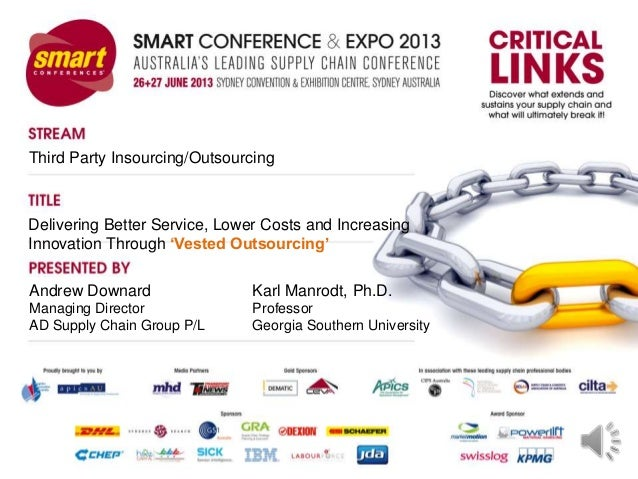 Smart2013 presentation vested outsourcing audio