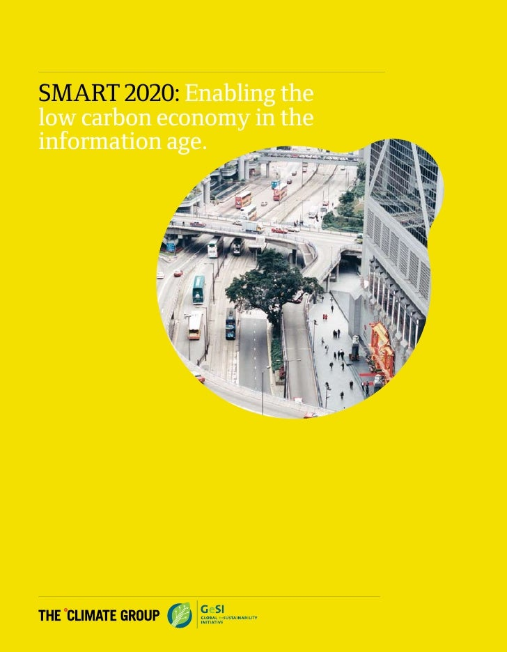 SMART 2020: Enabling the low carbon economy in the information age.