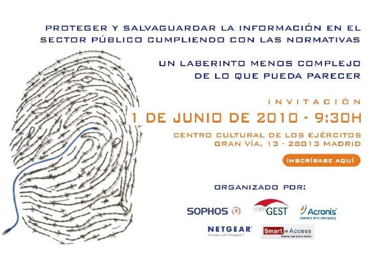 El Esquema Nacional de Seguridad y su aplicación en las AA.PP.