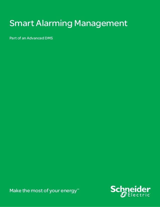 Smart Alarming Management