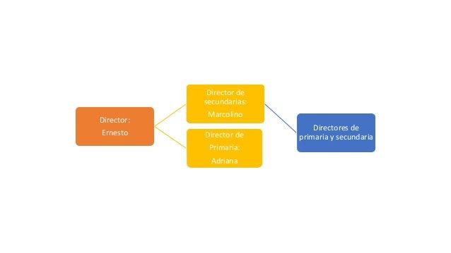Director: Ernesto Director de secundarias: Marcolino Directores de primaria y secundariaDirector de Primaria: Adriana