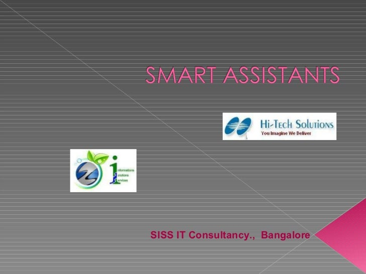 Smart assistants for educational institutions