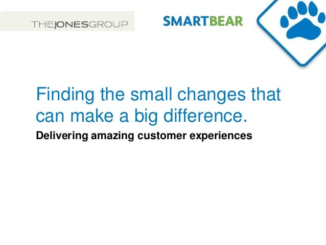 Smart bear & Jones Apparel - IRCE 2013 - Finding the small things that can make a big difference