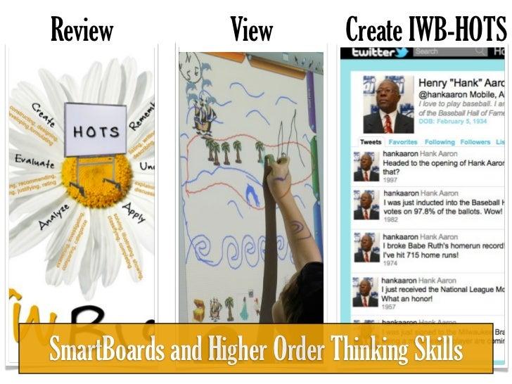 Smartboard & Higher Order Thinking Skils