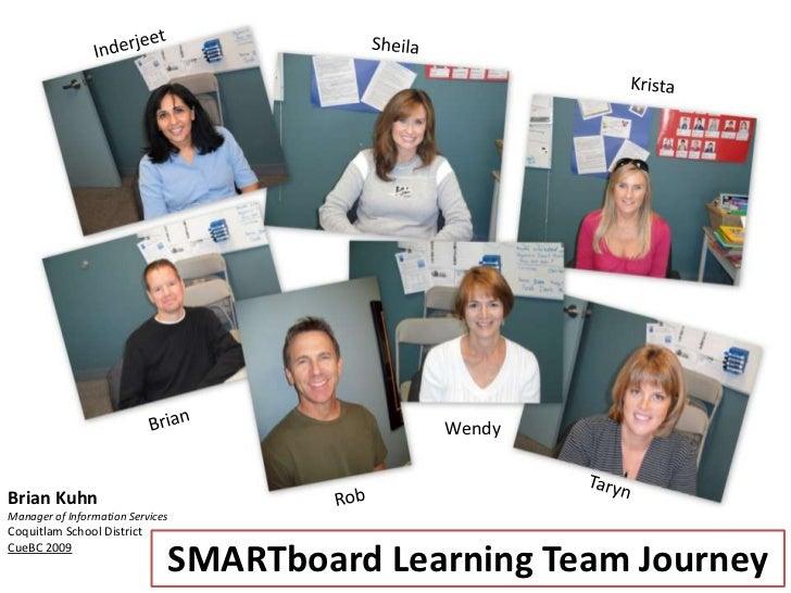SMARTboard learning team journey - CUEBC - October 2009