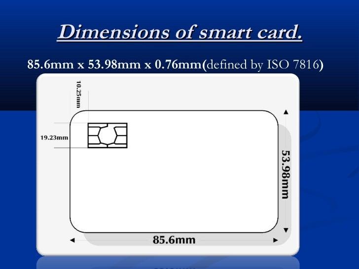 smart card. Black Bedroom Furniture Sets. Home Design Ideas