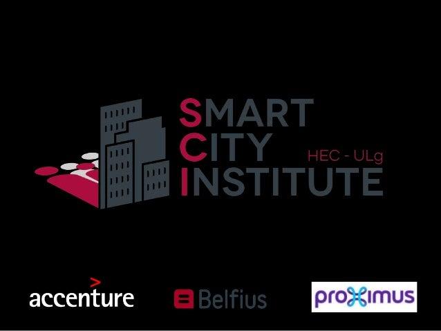Smart City : Contexte • Actuellement la moitié de la population mondiale vit dans des zones urbaines. • 66 % dans l'Union ...